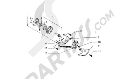 Piaggio Hexagon GT 1998-2005 Bomba de aceite