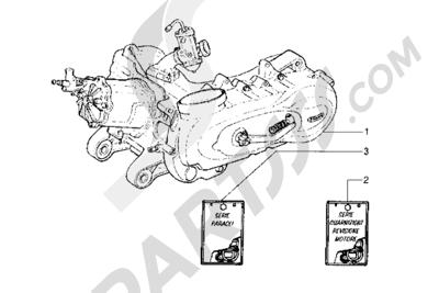 Piaggio Hexagon LXT 1998-2005 Motor