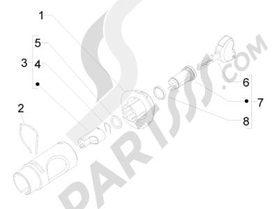 Piaggio Liberty 50 4T MOC 2009-2016 Cerraduras