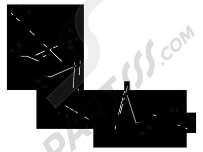 Piaggio MP3 300 LT BUSINESS - SPORT ABS ENJOY 2014-2015 Manillar - Bomba freno