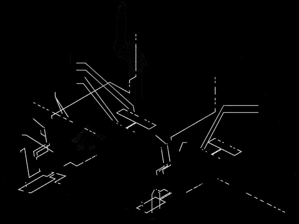 Componentes de la horquilla (Mingxing) Piaggio MP3 500 LT Sport 2014-2015