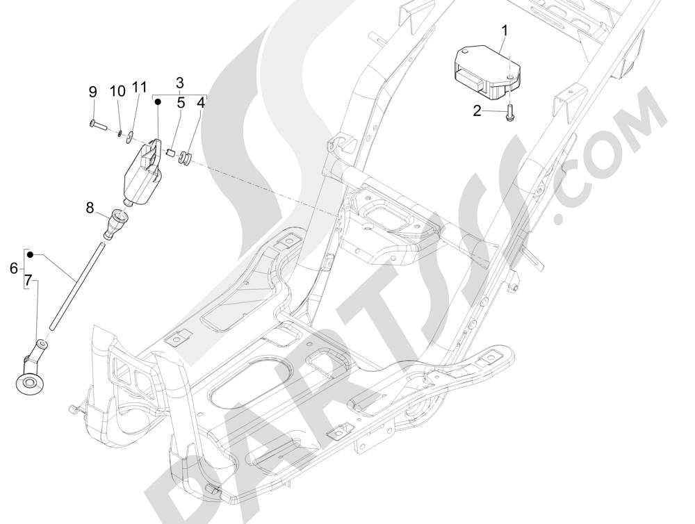 Piaggio NRG Power DD 2007-2015 Reguladores de tensión - Centralitas electrónicas - Bobina A.T.