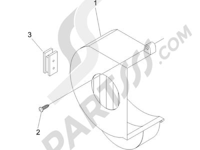 Piaggio NRG Power DT 2006 Tapa volante magnetico - Filtro de aceite