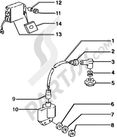 Piaggio Sfera RST 50 1998-2005 Dispositivos electricos para vehículos con antistart