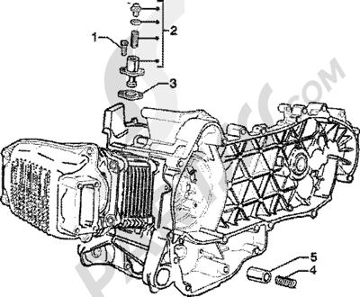 Piaggio Skipper 125 4T 1998-2005 Tensor de cadena-valvula by-pass
