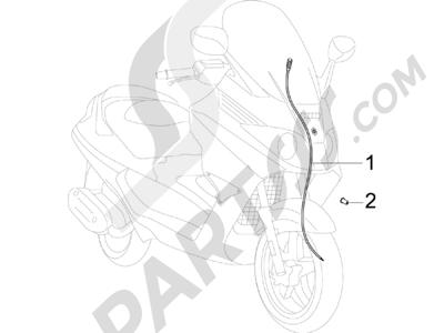 Piaggio X8 125 Potenziato 2005-2006 Transmisiónes