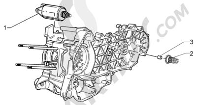 Piaggio X9 125 Evolution 1998-2005 Arranque electrico