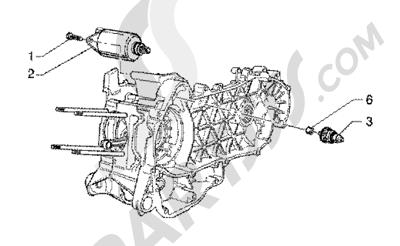 Piaggio X9 125 SL 1998-2005 Arranque electrico