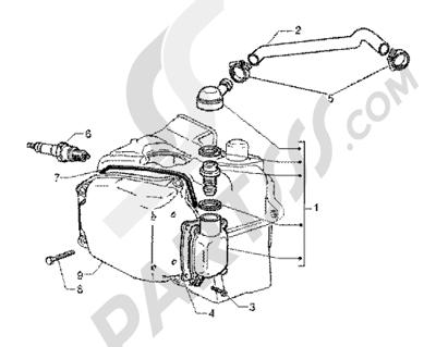 Piaggio X9 125 SL 1998-2005 Valvula desfogue aceite
