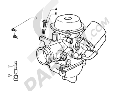 Piaggio X9 200 1998-2005 Carburettor