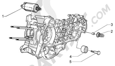 Piaggio X9 200 Evolution 1998-2005 Arranque electrico-polea amortiguador