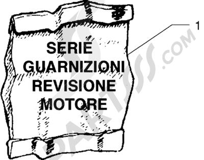 Piaggio X9 250 1998-2008 Serie juntas revisión motor