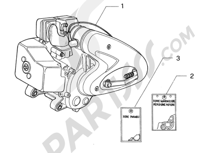 Piaggio Zip & Zip HASTA 1997 Motor