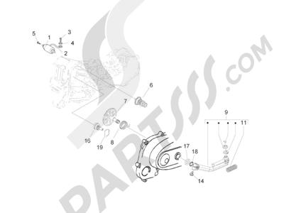 Piaggio Zip 50 2T 2009-2015 Arranque - Arranque electrico