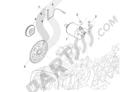 Despiece Vespa Vespa Sprint 125 4t 3v Ie 2014 2015