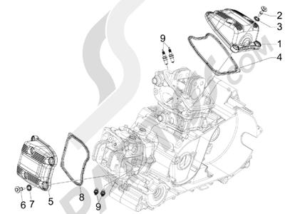 Gilera GP 800 2009-2011 Tapa culata