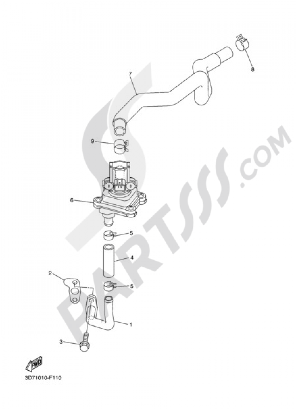 AIR INDUCTION SYSTEM Yamaha WR250X 2010