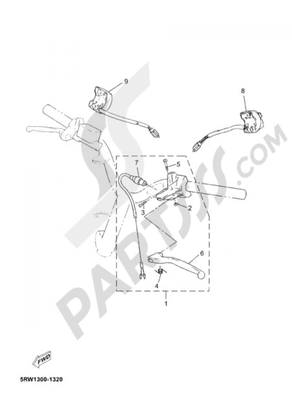 jog r 2005 43 fig 32 interruptor de manillarpalanc_1000 start stop jog diagram wiring diagram database