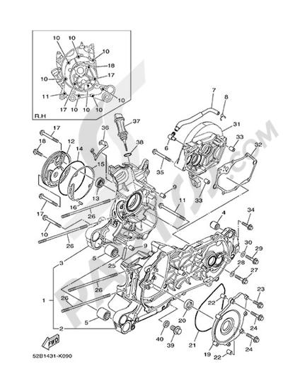 Yamaha D'elight 125 2014 CARTER