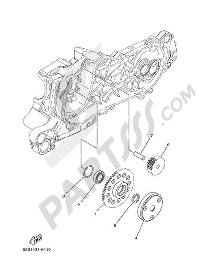 Yamaha D'elight 125 2014 STARTER
