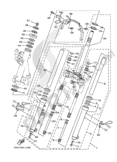 Yamaha D'elight 125 2014 STEERING
