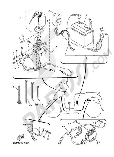 Yamaha D'elight 125 2014 ELECTRIC EQUIPMENT 1