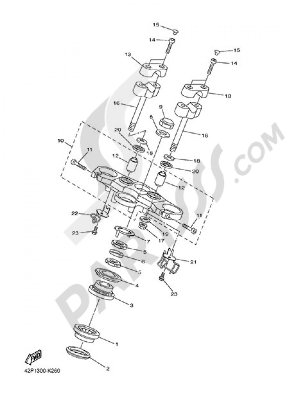 STEERING Yamaha Fazer8 ABS 2014