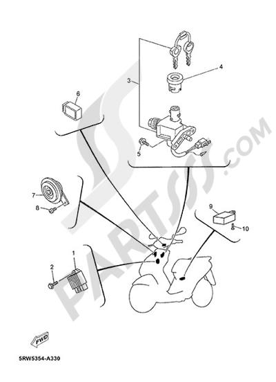 Yamaha Jog R 2015 ELECTRIC EQUIPMENT 1