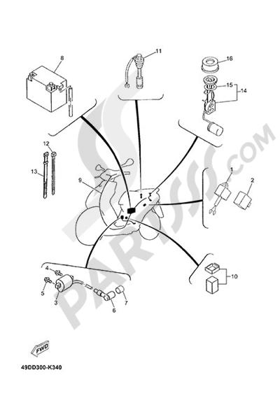 Yamaha Jog R 2015 ELECTRIC EQUIPMENT 2