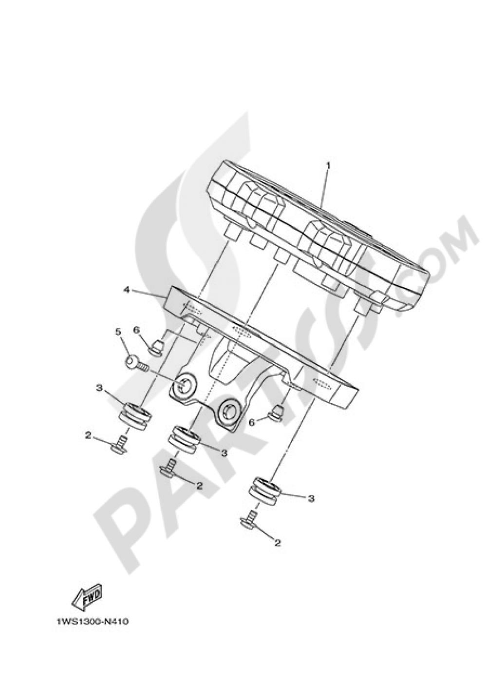 METER Yamaha MT-07 ABS 2015