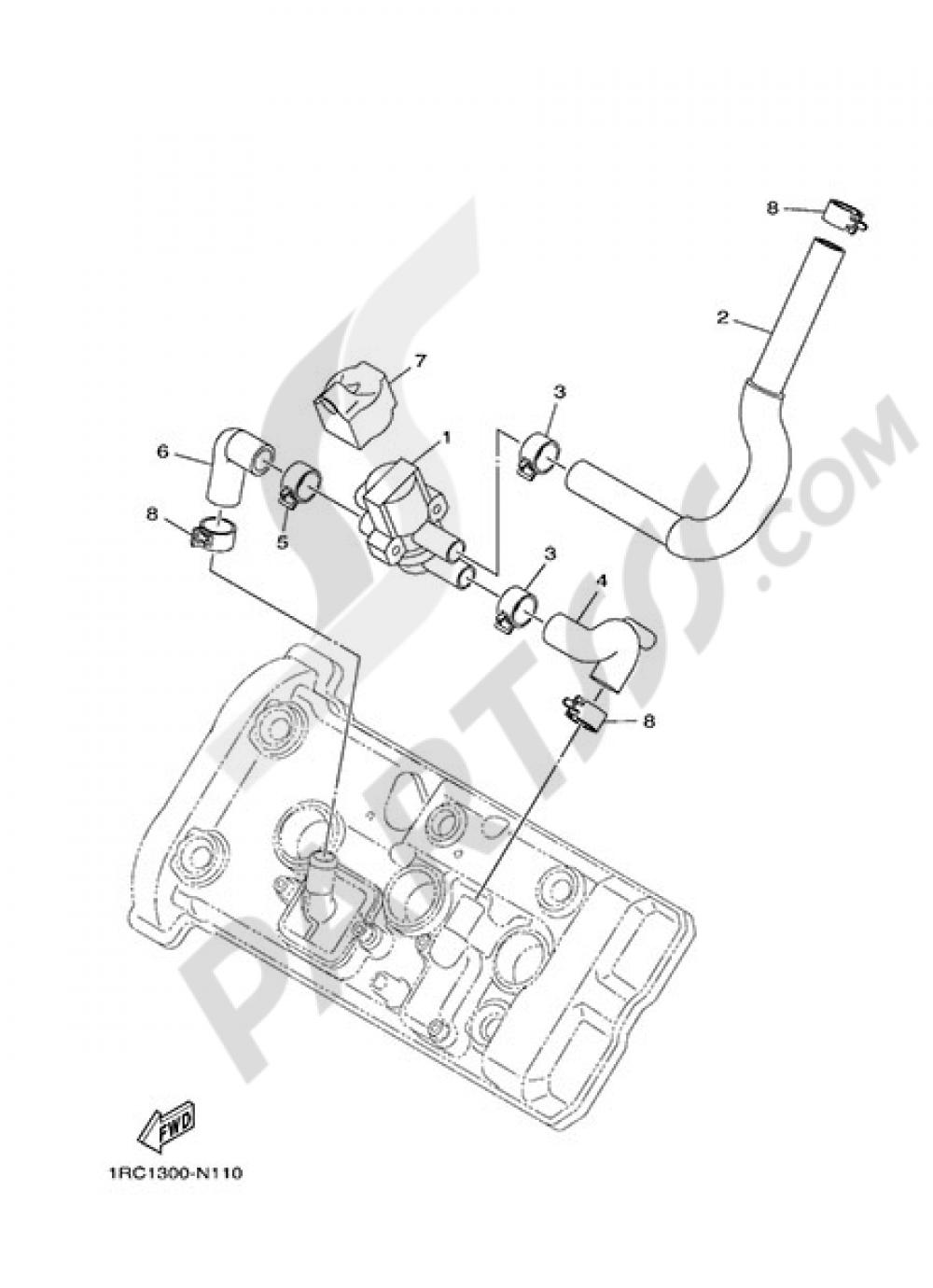AIR INDUCTION SYSTEM Yamaha MT-09 2015