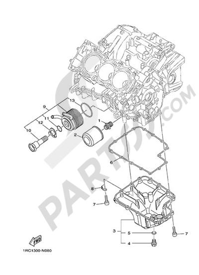 Yamaha MT-09 Tracer 2015 OIL CLEANER