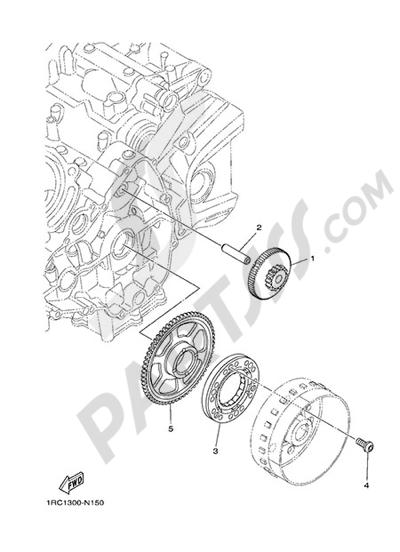 Yamaha MT-09 Tracer 2015 STARTER