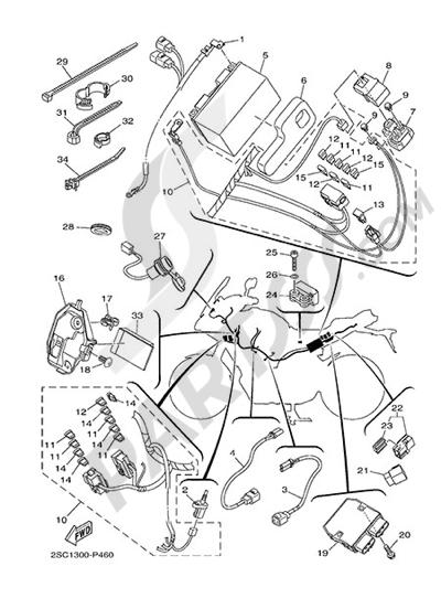 Yamaha MT-09 Tracer 2015 ELECTRIC EQUIPMENT 1