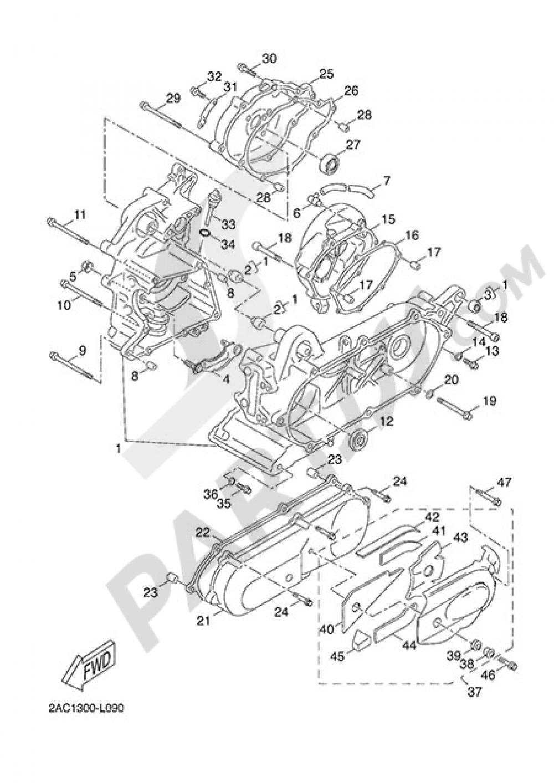 CARTER Yamaha NS50F 2014