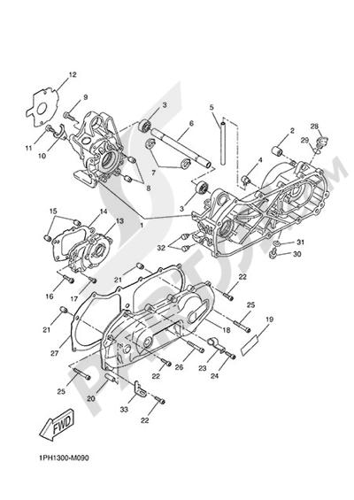 Yamaha NS50N 2014 CARTER