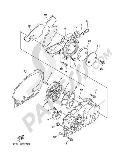 Yamaha T Max 530 Abs 2015 Dissassembly Sheet Purchase Genuine Spare