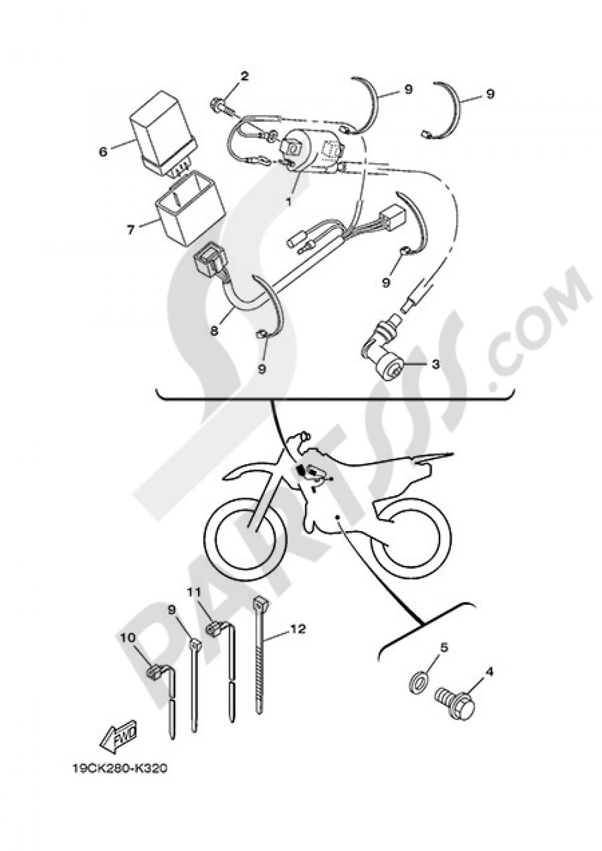 ELECTRIC EQUIPMENT 1 Yamaha TT R125LW 2013