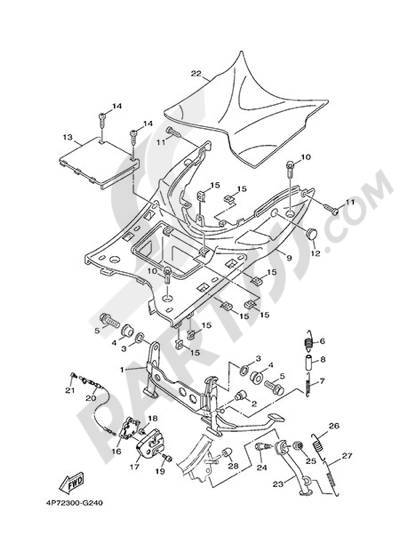 Yamaha Vity Wiring Diagram