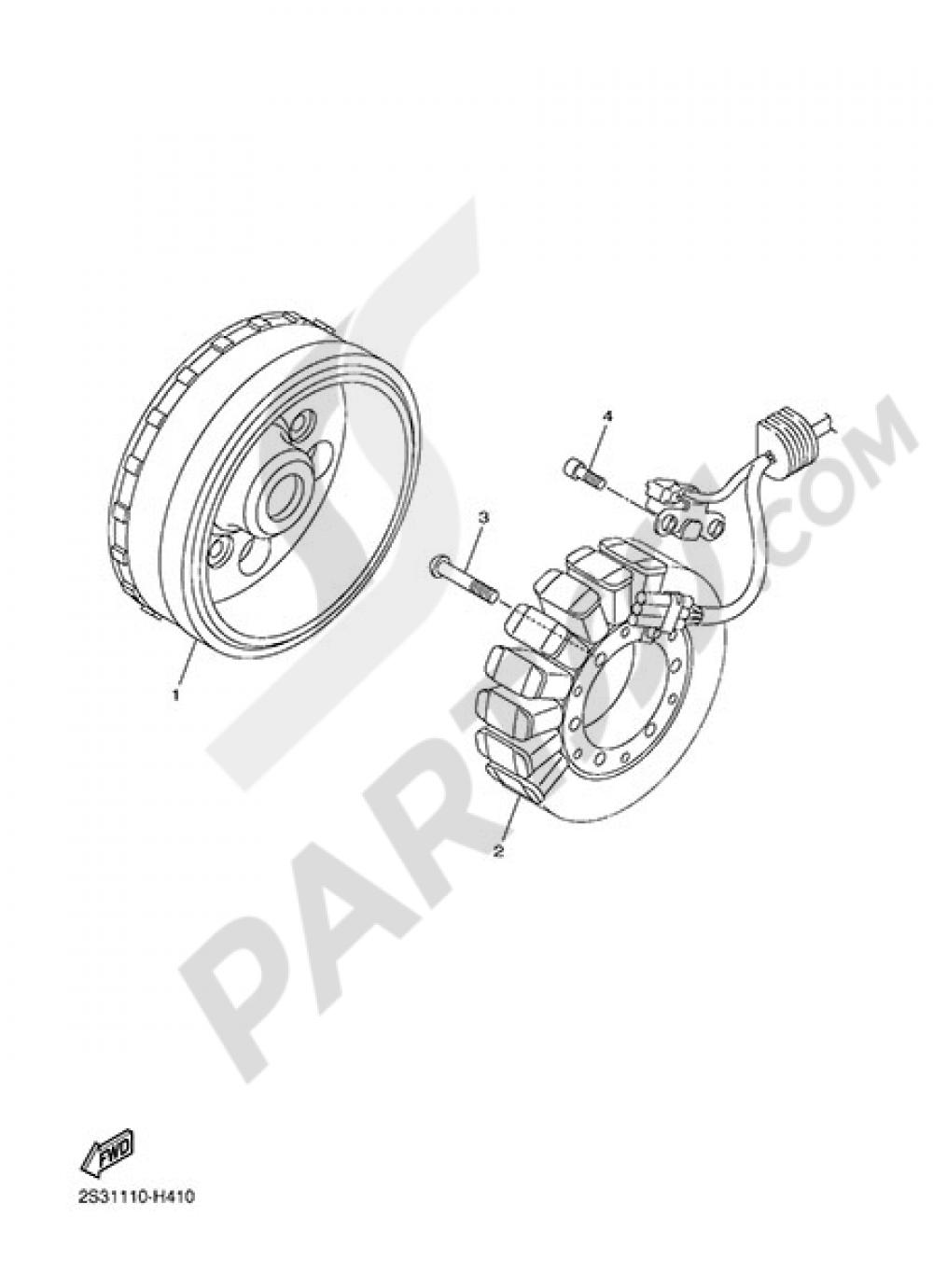 GENERATOR Yamaha VMAX CARBON 2015