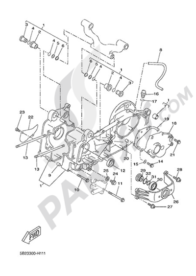 Yamaha X-City 250 2015 CARTER