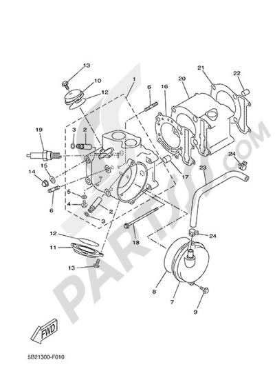Yamaha X-City 250 2015 CYLINDER