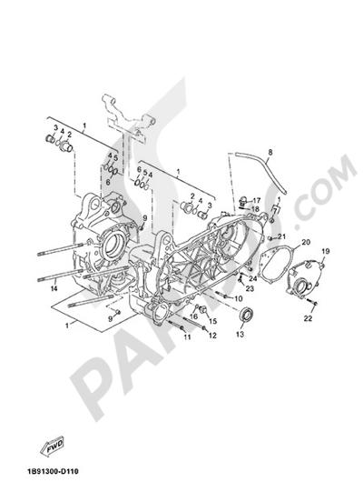Yamaha X-Max 125 ABS 2013 CARTER