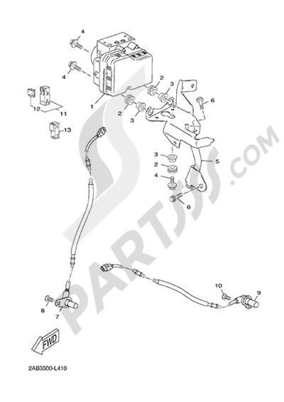 Yamaha X-Max 125 ABS 2013 ELECTRIC EQUIPMENT 3
