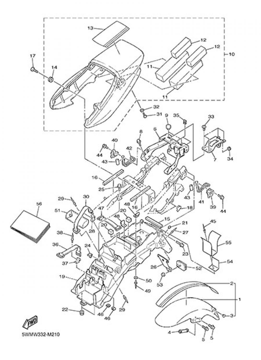 FENDER Yamaha XJR 1300 2013