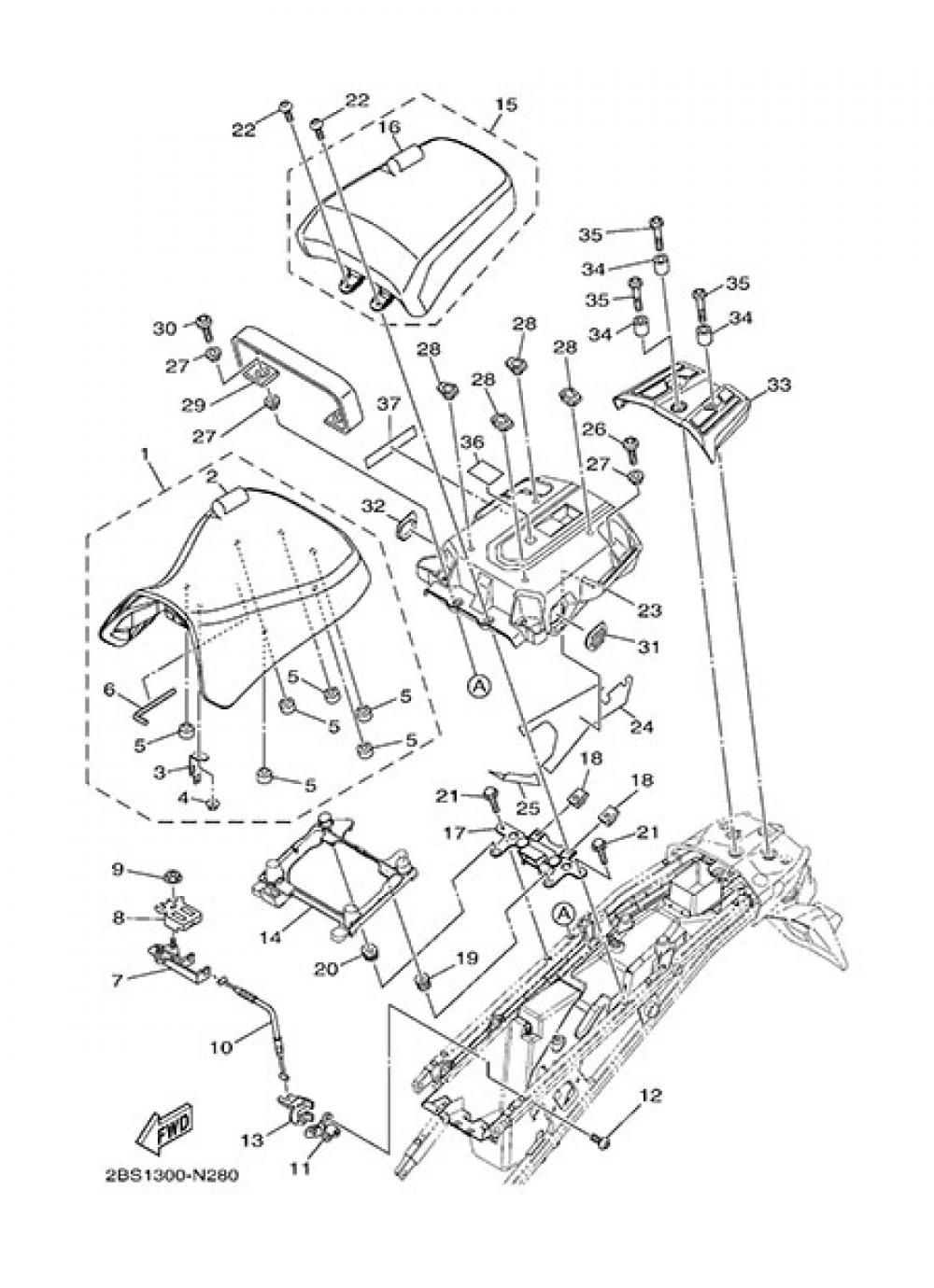 SEAT Yamaha XT1200Z SuperTenere 2014