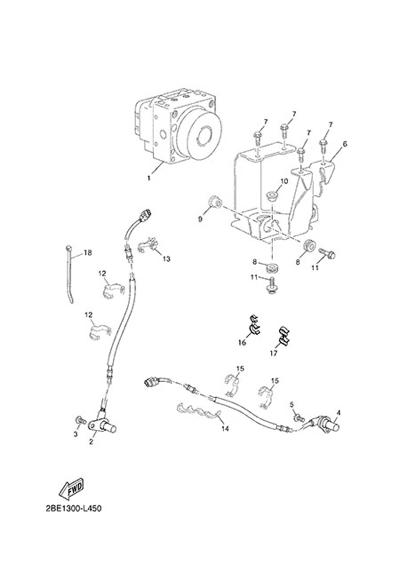Yamaha XT660Z Tenere ABS 2015 ELECTRIC EQUIPMENT 3