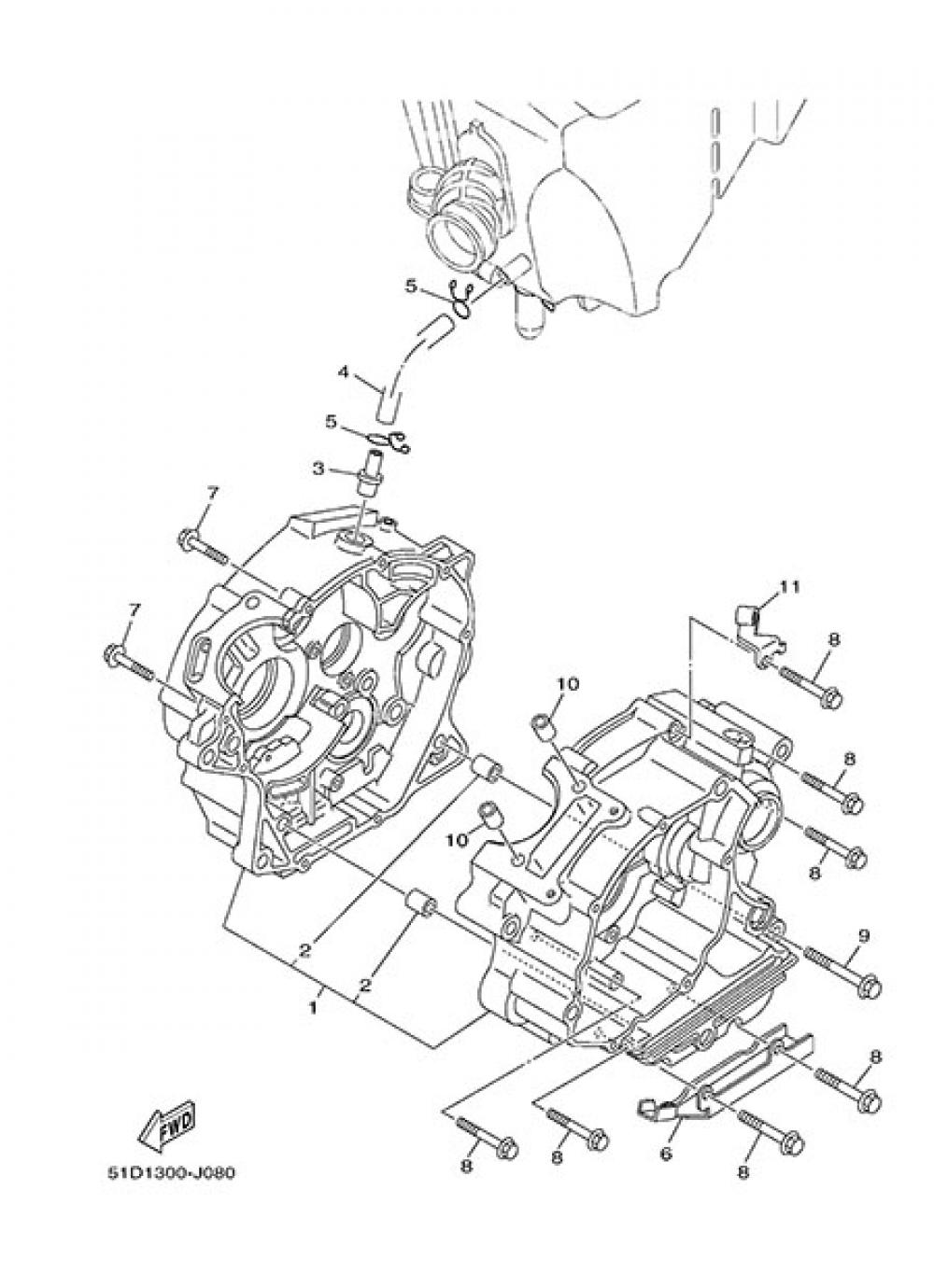 CARTER Yamaha YBR125 2014