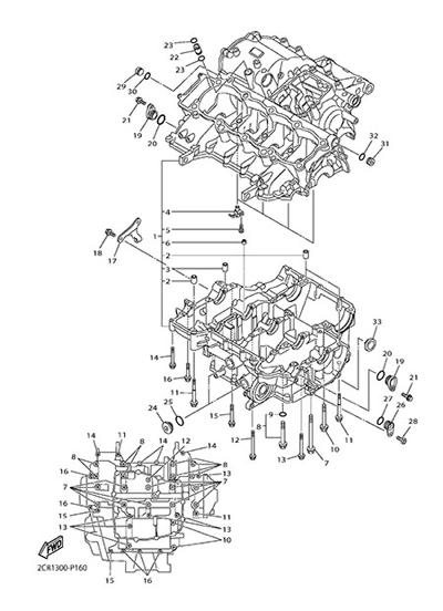 Yamaha YZF-R1M 2015 CARTER