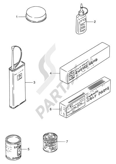 suzuki rf900r 1994 62 - optional